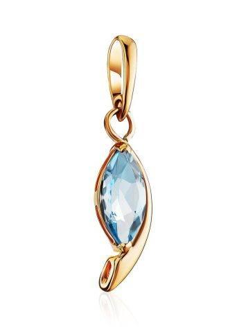 Elegant Gold Topaz Pendant, image , picture 3