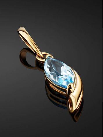 Elegant Gold Topaz Pendant, image , picture 2