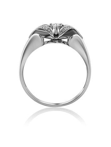Fabulous White Gold Diamond Ring, Ring Size: 8 / 18, image , picture 3