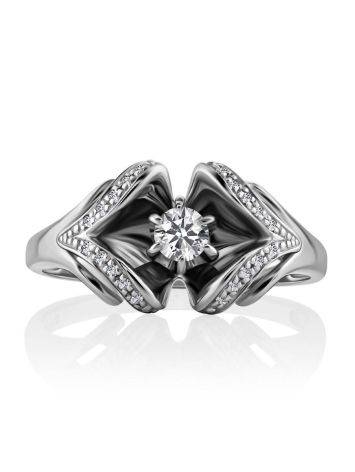 Fabulous White Gold Diamond Ring, Ring Size: 8 / 18, image , picture 4