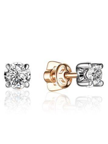 Versatile Gold Diamond Studs, image