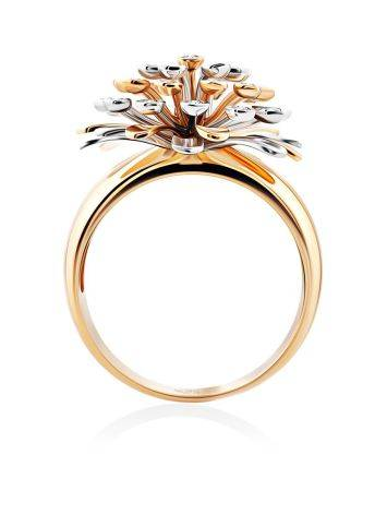 Rotating Motion Gold Diamond Ring, Ring Size: 8.5 / 18.5, image , picture 3