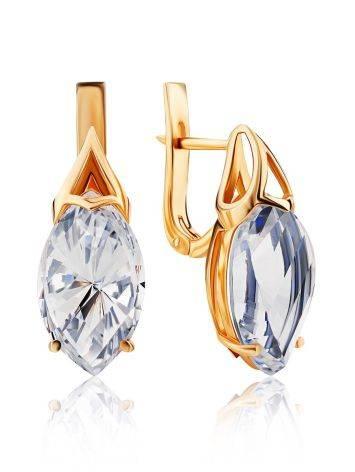 Amazing Gold Topaz Earrings, image