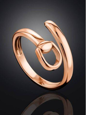 Belt Shaped Coil Ring The ICONIC, Ring Size: Adjustable, image , picture 2