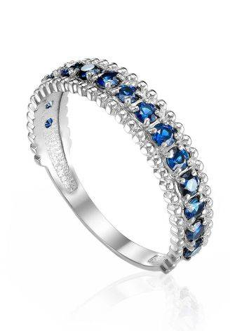 Dazzling Gold Sapphire Band Ring, Ring Size: 6 / 16.5, image
