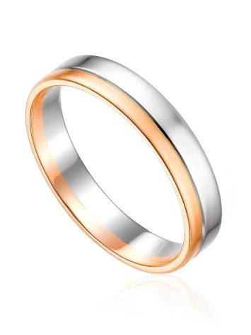 Sleek Mixed Gold Band Ring, Ring Size: 5.5 / 16, image