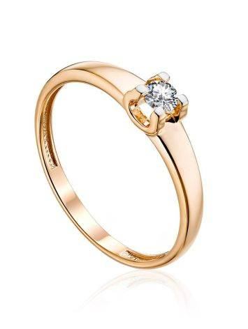 Solitaire Diamond Ring, Ring Size: 5 / 15.5, image