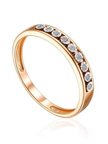 Chic Channel Set Diamond Ring, Ring Size: 5.5 / 16, image