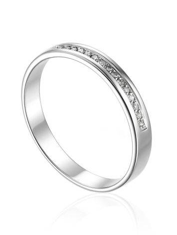 Dazzling Channel Set Diamond Ring, Ring Size: 6.5 / 17, image