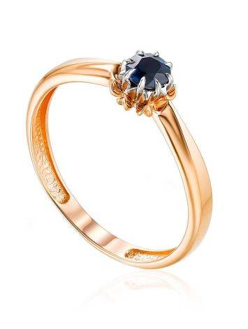 Chic Gold Sapphire Ring, Ring Size: 5.5 / 16, image
