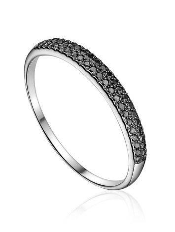 Amazing Gold Black Diamond Ring, Ring Size: 5.5 / 16, image