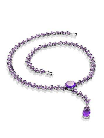 Voluptuous Silver Amethyst Necklace, image , picture 4