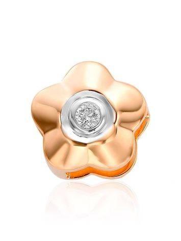 Cute Gold Diamond Pendant, image