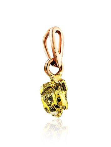 Extraordinary 24K Gold Pendant The Nugget, image , picture 3