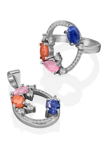 Playful Design Sugar Quartz Ring, Ring Size: 6 / 16.5, image , picture 4