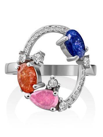Playful Design Sugar Quartz Ring, Ring Size: 6 / 16.5, image , picture 3