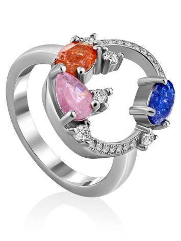 Playful Design Sugar Quartz Ring, Ring Size: 6 / 16.5, image