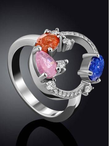 Playful Design Sugar Quartz Ring, Ring Size: 6 / 16.5, image , picture 2