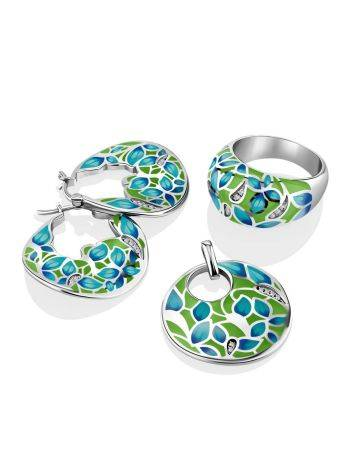 Colorful Enamel Hoops, image , picture 3