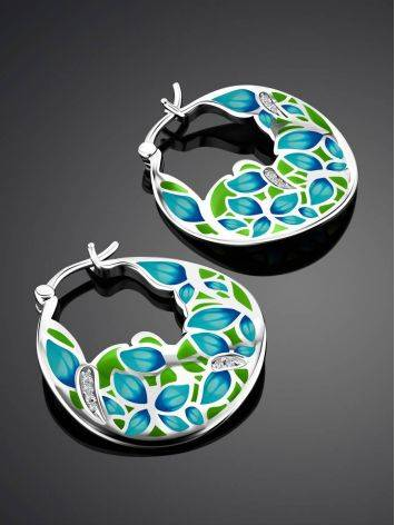 Colorful Enamel Hoops, image , picture 2