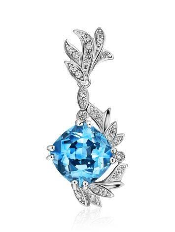 Light Blue Topaz Pendant, image