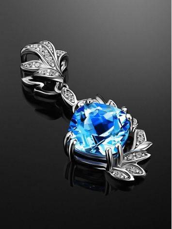 Light Blue Topaz Pendant, image , picture 2