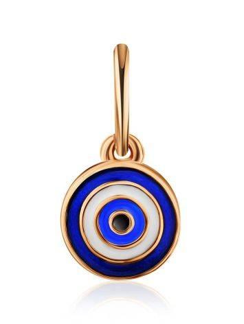 Symbolic Gold Enamel Pendant, image