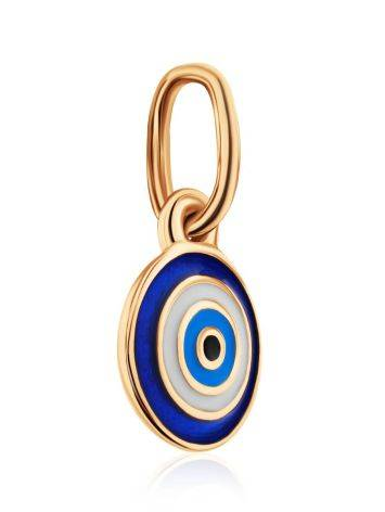 Symbolic Gold Enamel Pendant, image , picture 3