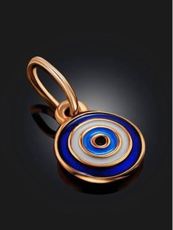 Symbolic Gold Enamel Pendant, image , picture 2