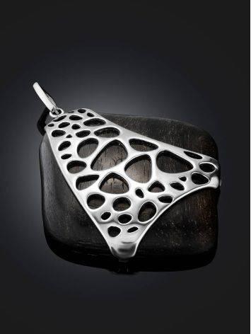 Bold Ebony Wood Pendant, image , picture 2