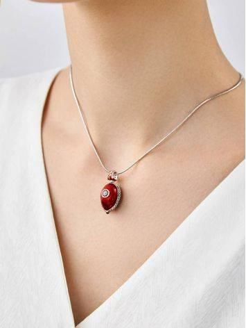 Whimsical Ladybird Motif Enamel Garnet Egg Pendant The Romanov, image , picture 5