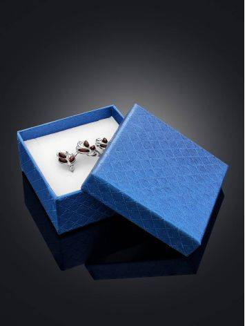Blue Cardboard Gift Box, image , picture 2
