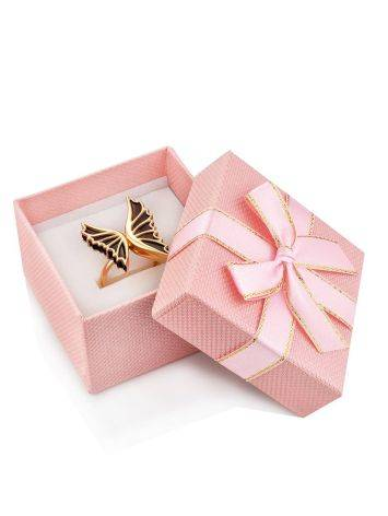 Cute Pink Gift Box With Ribbon, image , picture 3