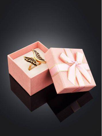 Cute Pink Gift Box With Ribbon, image , picture 2