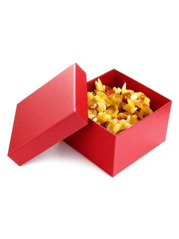 Red Cardboard Jewelry Box, image , picture 2