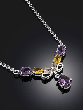Exquisite Mix Stone Necklace, image , picture 2
