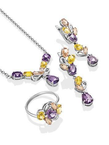 Exquisite Mix Stone Necklace, image , picture 5