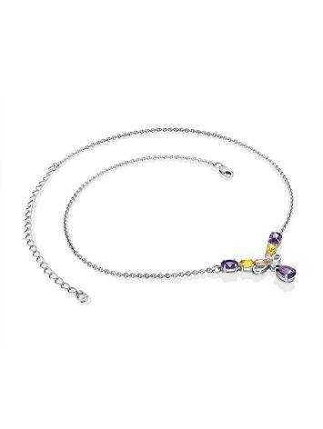 Exquisite Mix Stone Necklace, image , picture 4