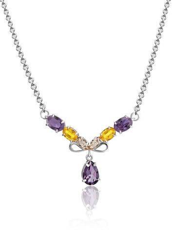 Exquisite Mix Stone Necklace, image