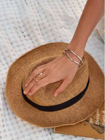 Boho Chic Silver Cuff Bracelet The ICONIC, image , picture 8