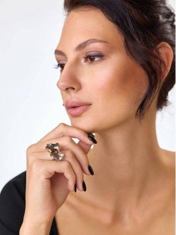 Fabulous Silver Garnet Adjustable Ring, Ring Size: Adjustable, image , picture 5