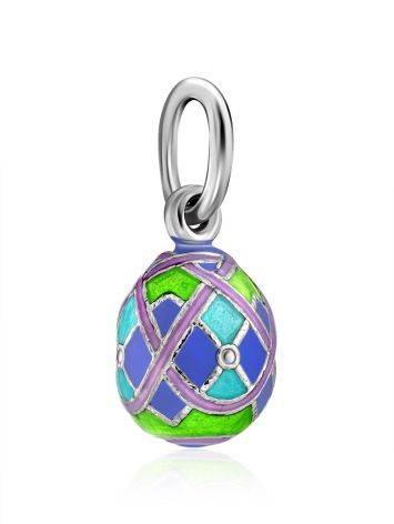 Colorful Enamel Egg Pendant The Romanov, image , picture 4