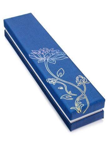 Blue Holographic Print Gift Box, image