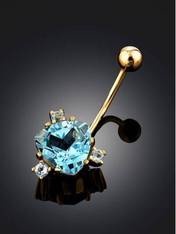 Dazzling Topaz Navel Piercing, image , picture 2