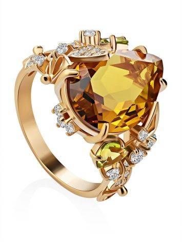 Lustrous Yellow Zultanite Ring, Ring Size: 8.5 / 18.5, image