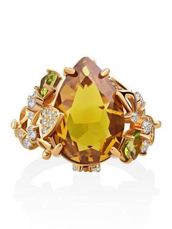 Lustrous Yellow Zultanite Ring, Ring Size: 8.5 / 18.5, image , picture 3