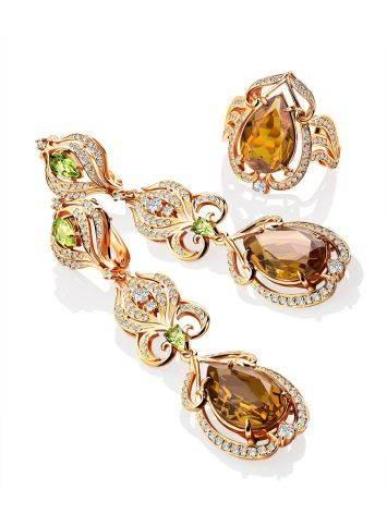 Gorgeous Orange Zultanite Ring, Ring Size: 8 / 18, image , picture 4
