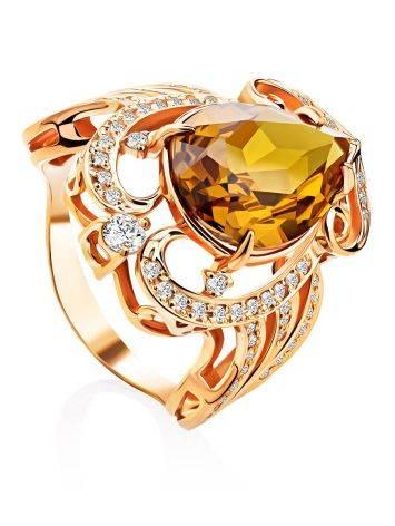 Gorgeous Orange Zultanite Ring, Ring Size: 8 / 18, image