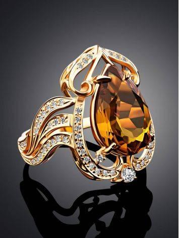 Gorgeous Orange Zultanite Ring, Ring Size: 8 / 18, image , picture 2