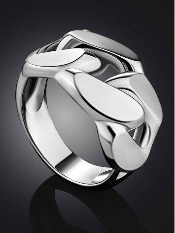 Industrial Design Silver Ring The ICONIC, Ring Size: 5.5 / 16, image , picture 2